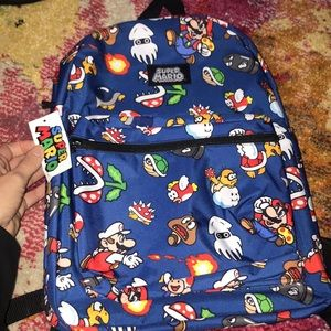 Super Mario Brothers backpack
